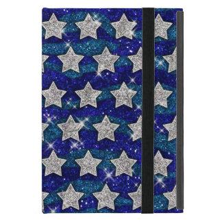 Funda Para iPad Mini Chispa azul de las ondas del brillo de las