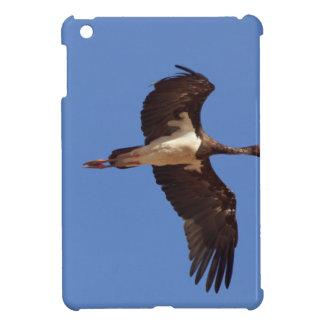 Funda Para iPad Mini Cigüeña negra (nigra del Ciconia) en vuelo