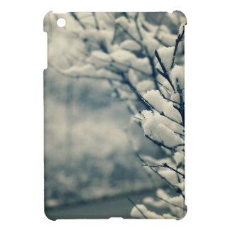 Funda Para iPad Mini Cojín de ratón del árbol Nevado