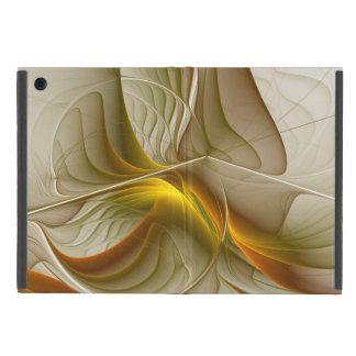 Funda Para iPad Mini Colores de metales preciosos, arte abstracto del