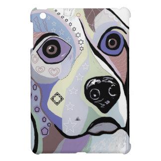 Funda Para iPad Mini Colores del DRIL DE ALGODÓN del beagle