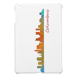 Funda Para iPad Mini Columbus Ohio, City Skyline, v1