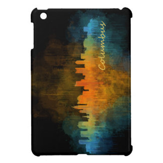 Funda Para iPad Mini Columbus Ohio, City Skyline, v4