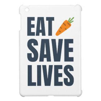 Funda Para iPad Mini Coma al vegano - vidas de la reserva