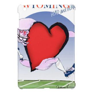 Funda Para iPad Mini corazón principal de Wyoming, fernandes tony