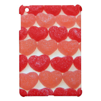 Funda Para iPad Mini Corazones del caramelo en una fila