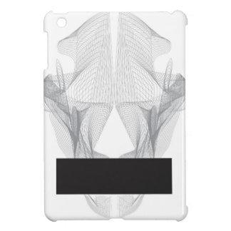 Funda Para iPad Mini Cráneo abstracto del oso