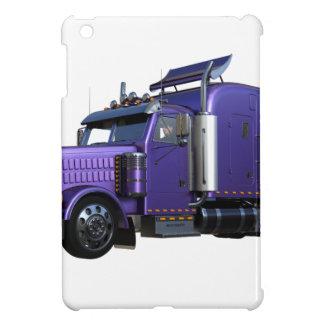 Funda Para iPad Mini De la púrpura camión metálico del tractor remolque
