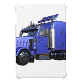 Funda Para iPad Mini Del azul camión metálico del tractor remolque semi
