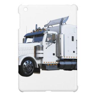 Funda Para iPad Mini Del blanco tractor remolque semi
