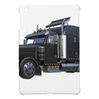 Funda Para iPad Mini Del negro camión del tractor remolque semi