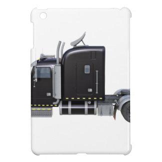 Funda Para iPad Mini Del negro tractor remolque semi en perfil lateral