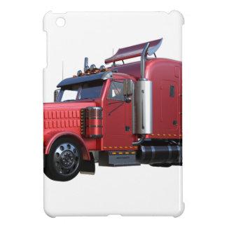 Funda Para iPad Mini Del rojo camión metálico de Traler del tractor