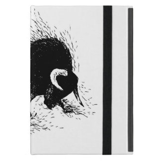 Funda Para iPad Mini Dibujo de la mano de un toro el rabiar