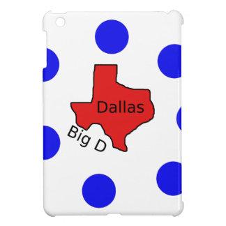 Funda Para iPad Mini Diseño de la ciudad de Dallas, Tejas (D) grande