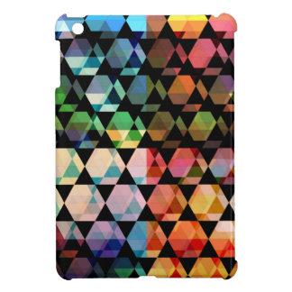 Funda Para iPad Mini Diseño gráfico del hexágono abstracto
