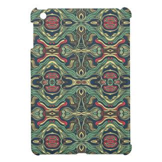 Funda Para iPad Mini Diseño rizado dibujado mano colorida abstracta del