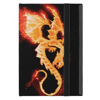 Funda Para iPad Mini dragón del fuego