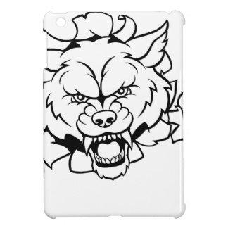 Funda Para iPad Mini El animal del lobo se divierte la mascota que