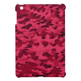 Funda Para iPad Mini El arte pop abstracto del follaje se ruboriza rojo