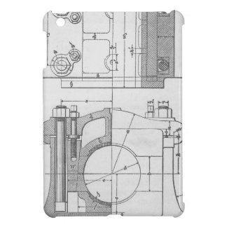 Funda Para iPad Mini El gráfico del mecánico industrial del vintage