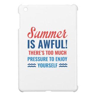 Funda Para iPad Mini El verano es tremendo