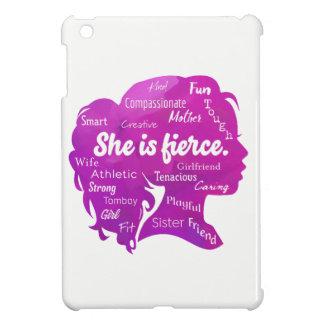 Funda Para iPad Mini Ella es feroz