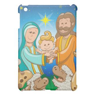 Funda Para iPad Mini Escena dulce de la natividad del bebé Jesús