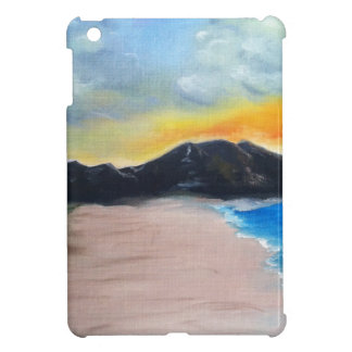 Funda Para iPad Mini Escena pintada de la playa