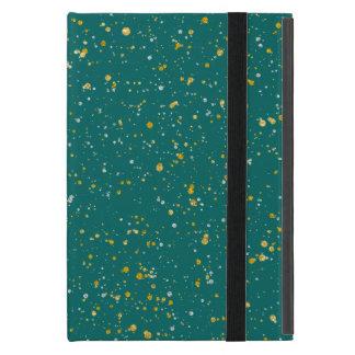 Funda Para iPad Mini Espacio elegante del confeti - verde verde azulado