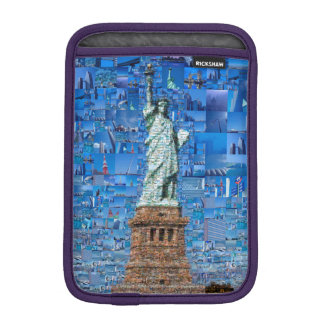 Funda Para iPad Mini estatua del collage de la libertad - estatua del
