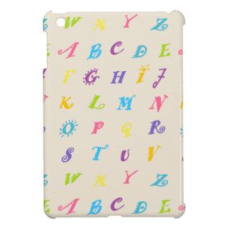 Funda Para iPad Mini Estuche rígido del iPad de HAMbyWG mini - alfabeto