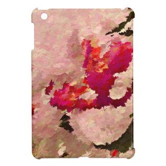 Funda Para iPad Mini Extracto rojo y blanco de la orquídea