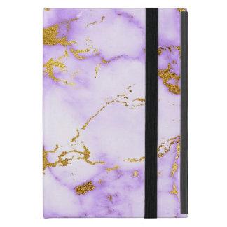 Funda Para iPad Mini Falso modelo de mármol metálico del oro elegante