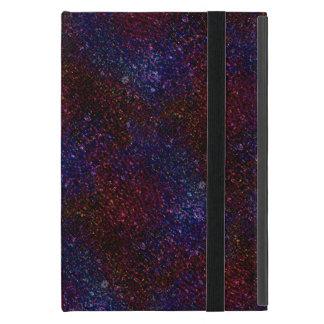 Funda Para iPad Mini Falso pixel ondulado oscuro del brillo de la