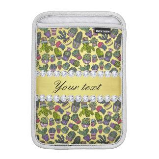Funda Para iPad Mini Falsos diamantes de Bling de la hoja de oro del