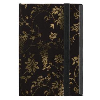 Funda Para iPad Mini Floral de oro