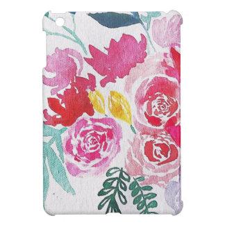 Funda Para iPad Mini Flores de la acuarela