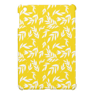Funda Para iPad Mini Flores en amarillo de la miel