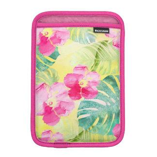 Funda Para iPad Mini Flores tropicales del hibisco de las hojas del