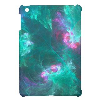 Funda Para iPad Mini Fractal abstracto en una paleta fría