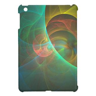 Funda Para iPad Mini Fractal abstracto multicolor