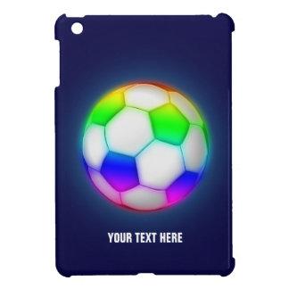 Funda Para iPad Mini Fútbol colorido femenino del fútbol el |