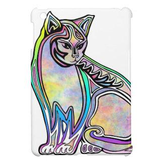 Funda Para iPad Mini Gato de la acuarela
