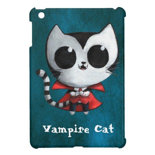 Funda Para iPad Mini Gato lindo del vampiro
