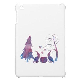 Funda Para iPad Mini Gatos de la bruja