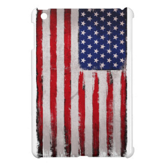 Funda Para iPad Mini Grunge de la bandera de los E.E.U.U.