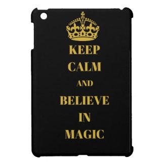 Funda Para iPad Mini Guarde la calma y crea en magia