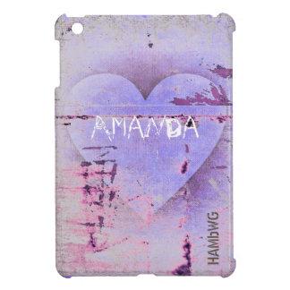 Funda Para iPad Mini HAMbyWG - estuche rígido - corazón apenado