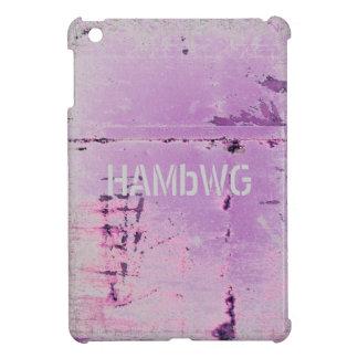 Funda Para iPad Mini HAMbyWG - estuche rígido - lila apenada